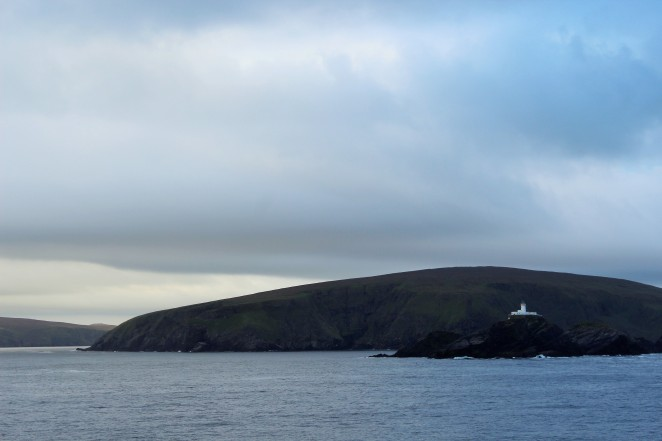 The Northernmost point of the Shetland Islands