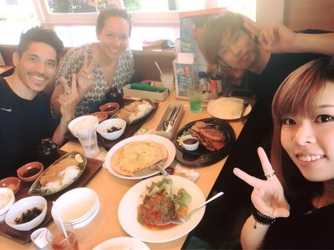 lunch with mizuki and kai